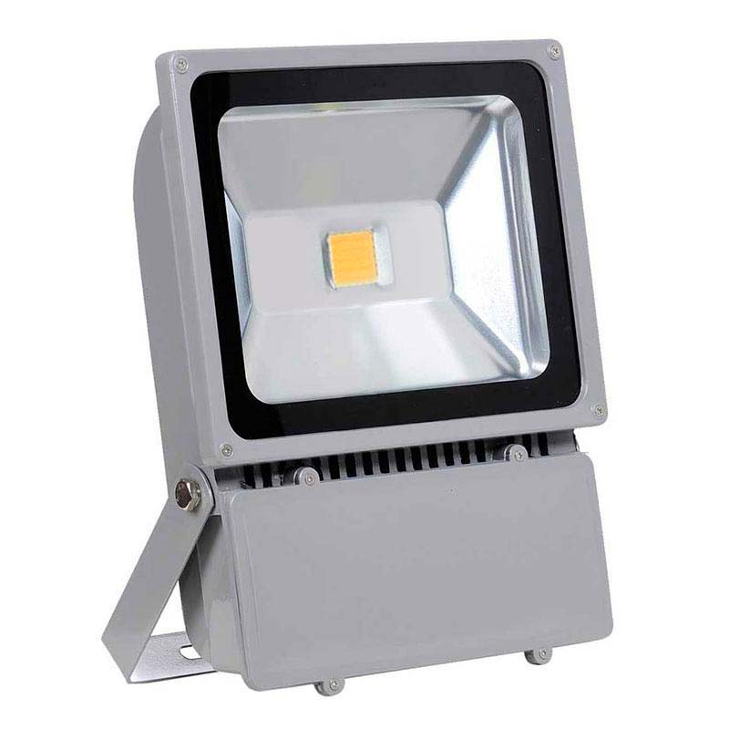 Proyector Led de exterior MICROLED,  100W, Blanco cálido